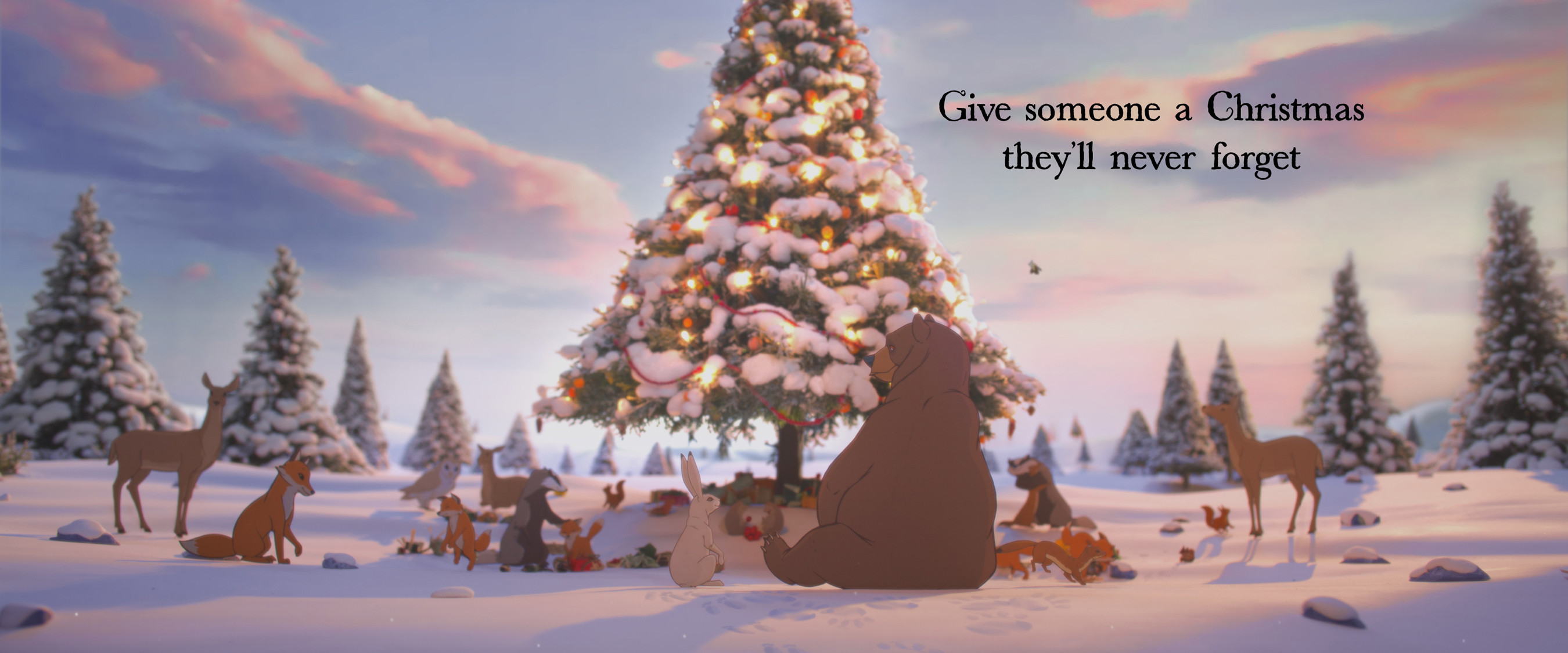 John Lewis Bear and Hare Christmas Ad