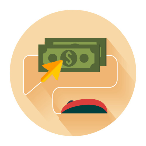 Illustration: Monetisation via PPC